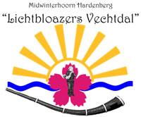 """Midwinterhoorn  Hardenberg """"Lichtbloazers Vechtdal"""" Logo"""